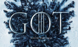 Game of Thrones Logo behind corpses of season 8